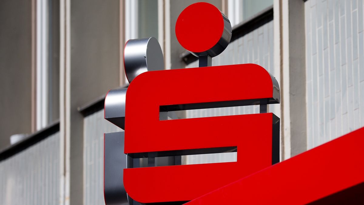 Das Logo der Sparkasse.