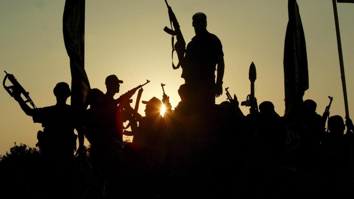Symbolbild: Terrorgruppe in Syrien