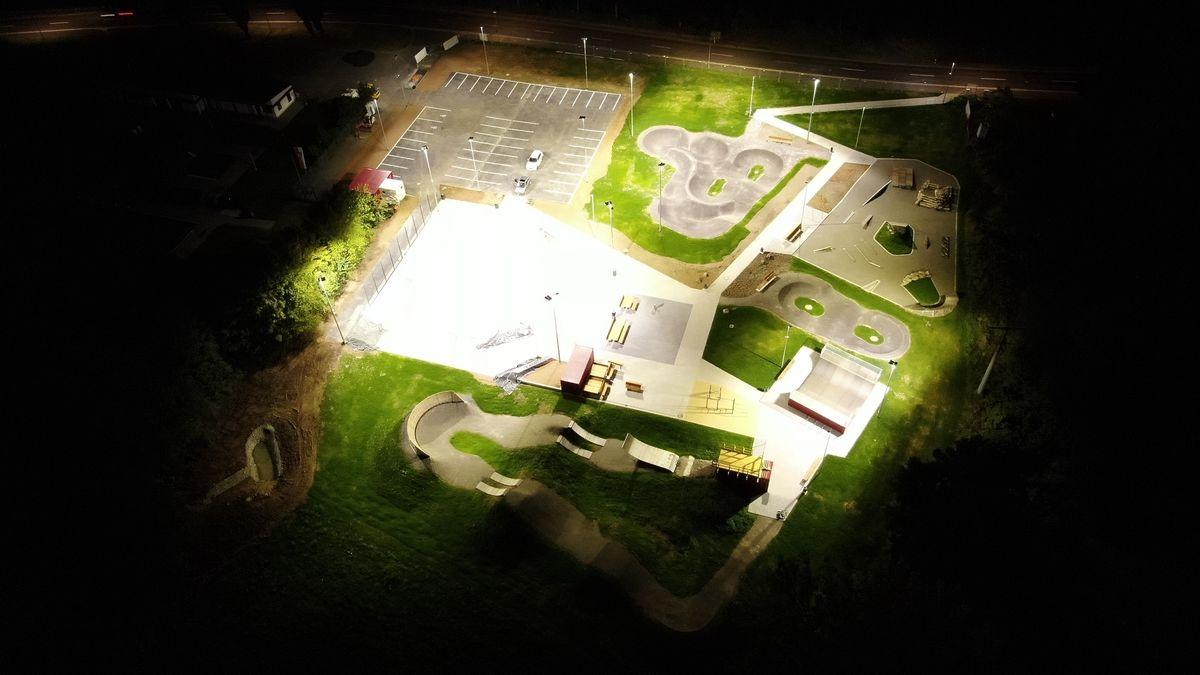 Der Sportpark in Bischofsheim
