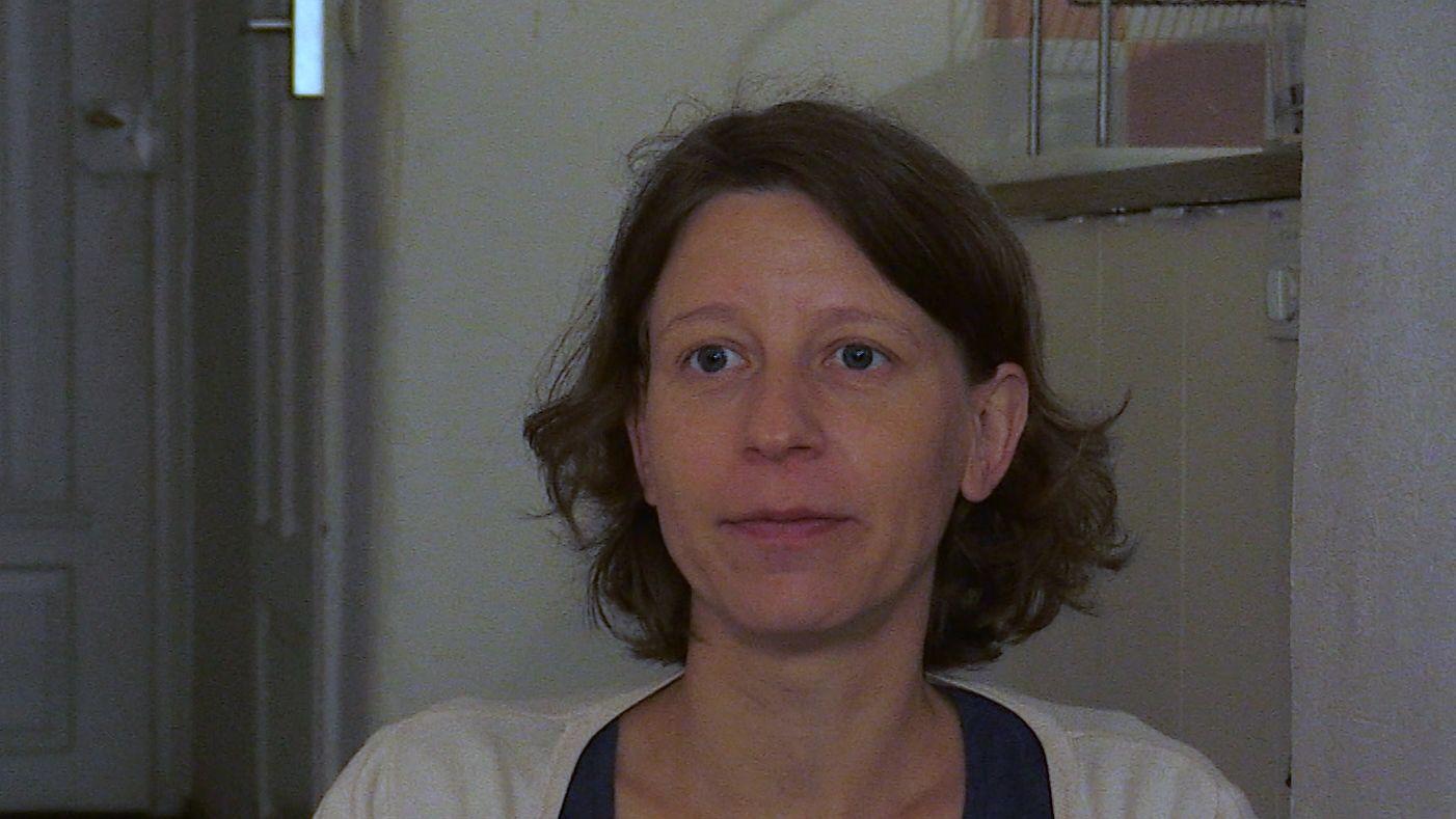 Jana Weidhaase  vom Bayerischen Flüchtlingsrat