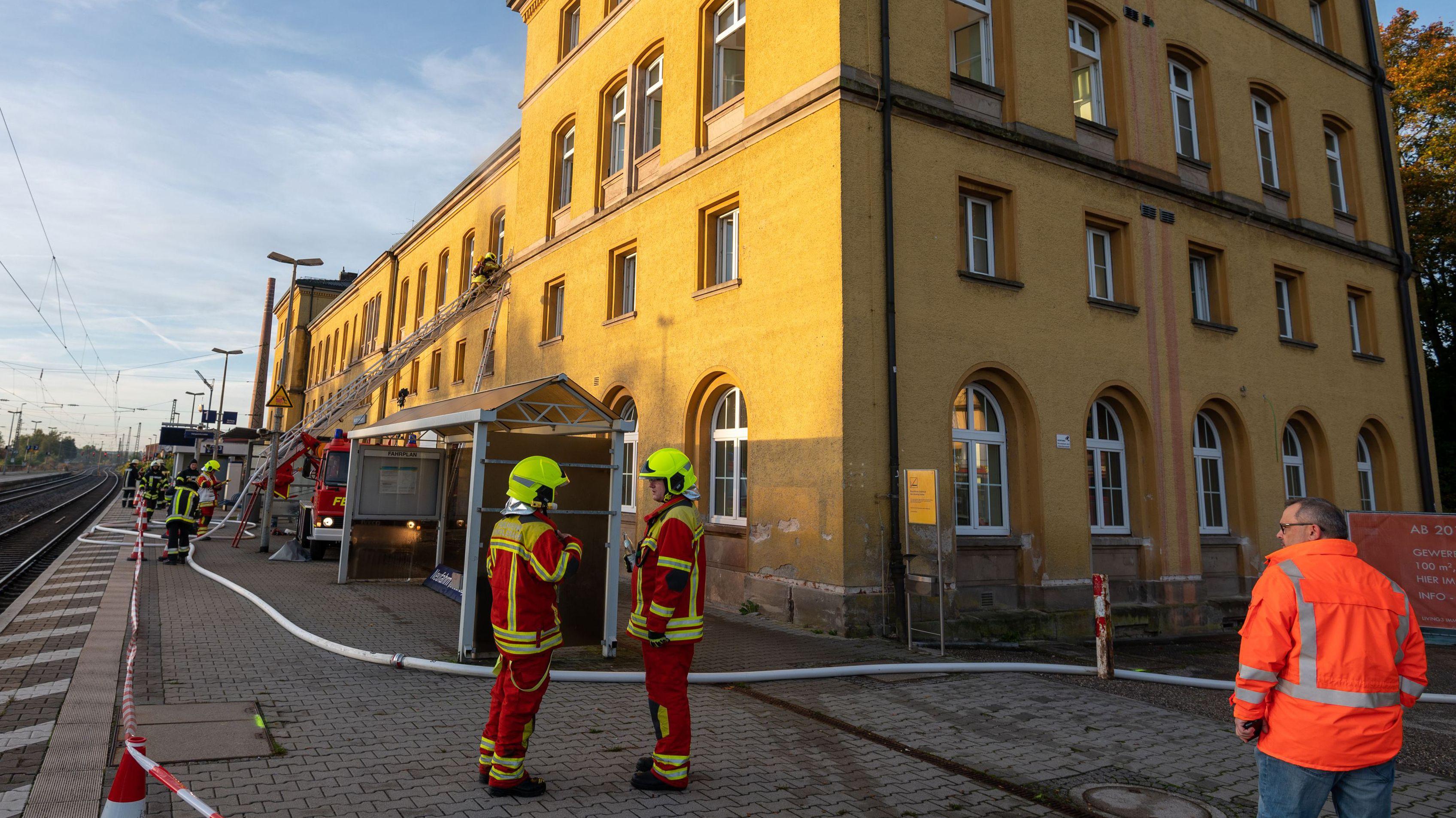 Die Feuerwehr im Einsatz