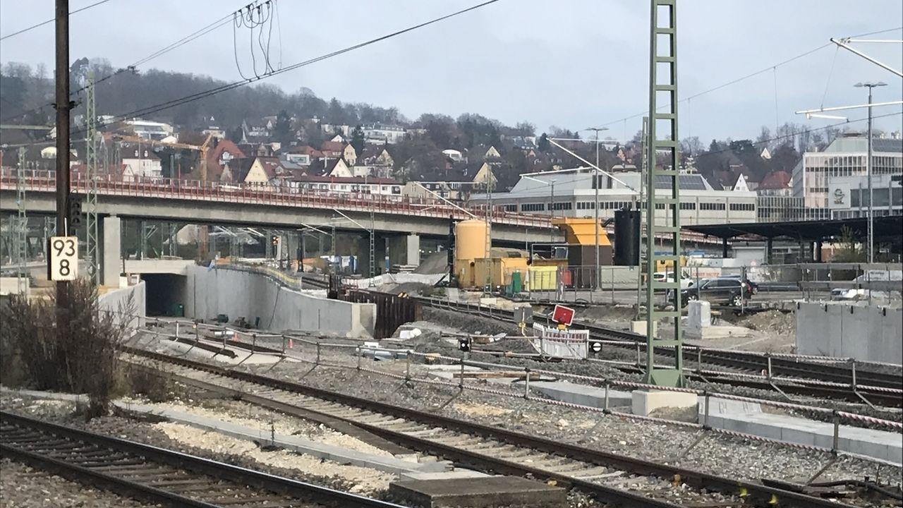 Bauarbeiten Hbf Ulm: Ausfälle im Bahnverkehr