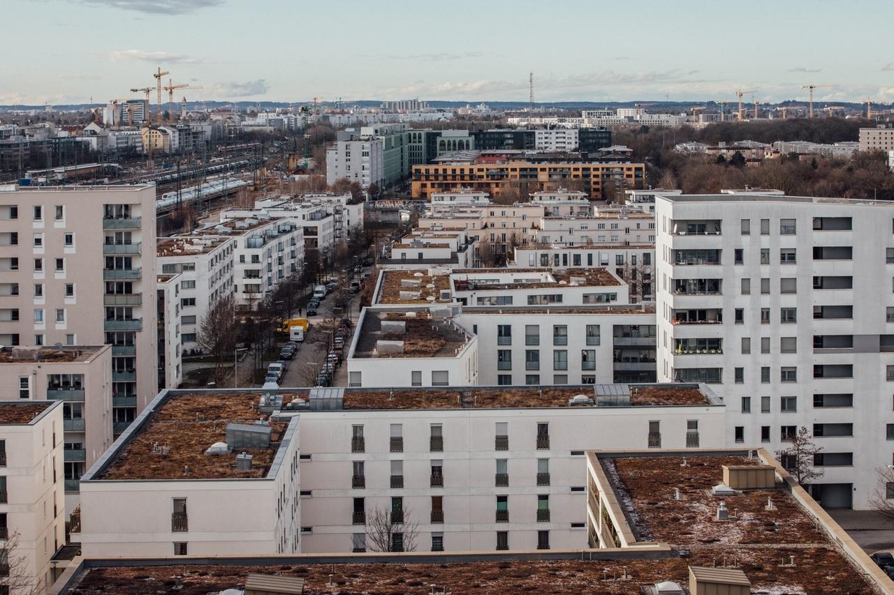 Neubaugebiet am Hirschgarten.