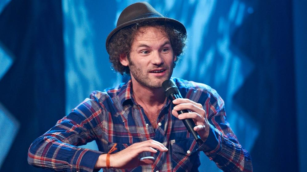 Kabarettist Maxi Schafroth | Bild:BR/Melanie Grande