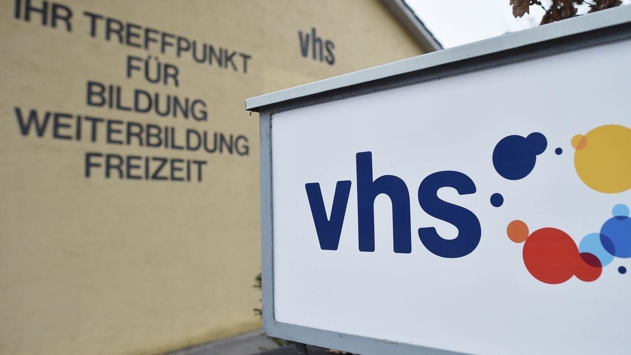 Logo der Volkshochschulen Bayern
