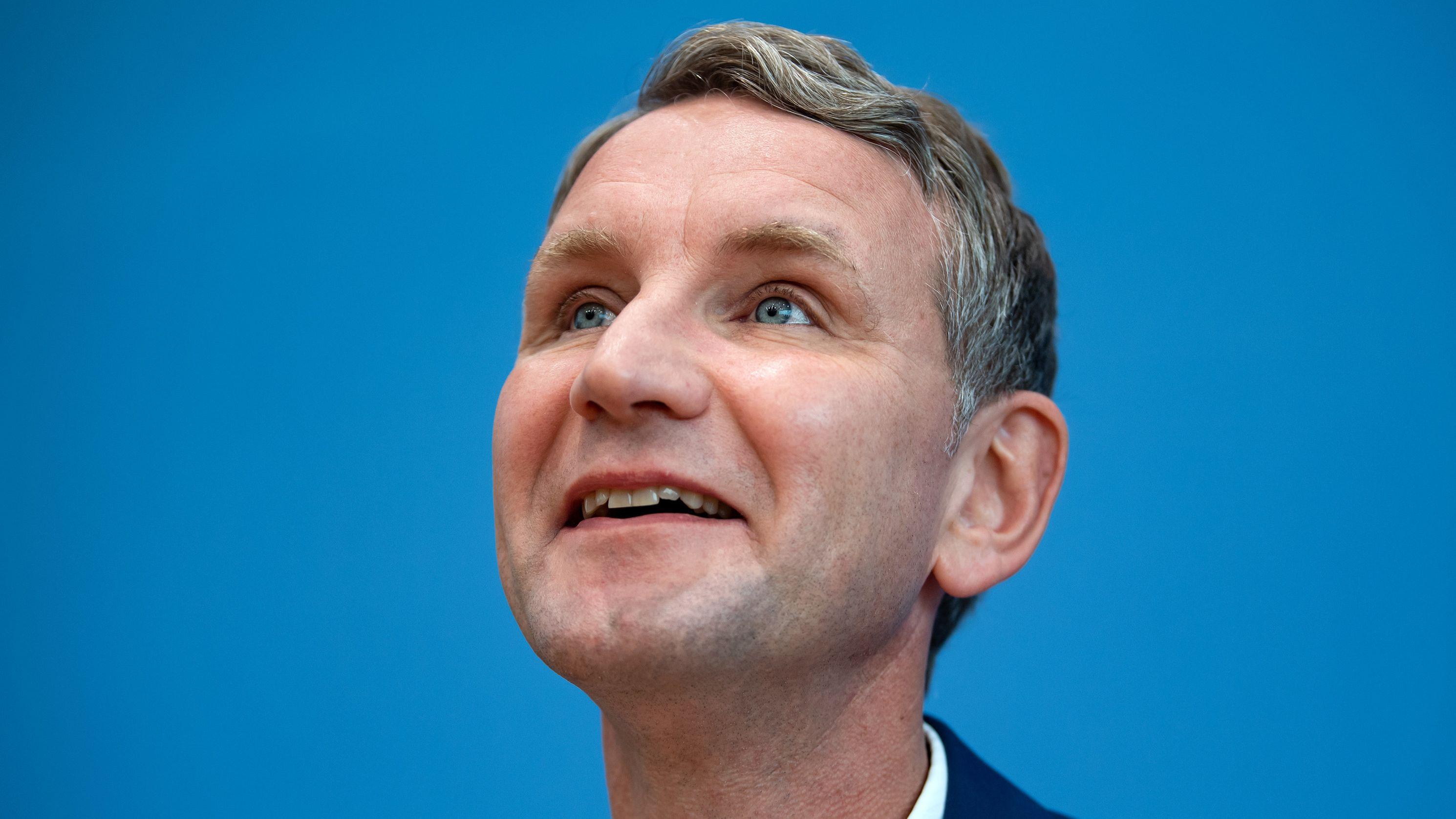 AfD-Landeschef Björn Höcke