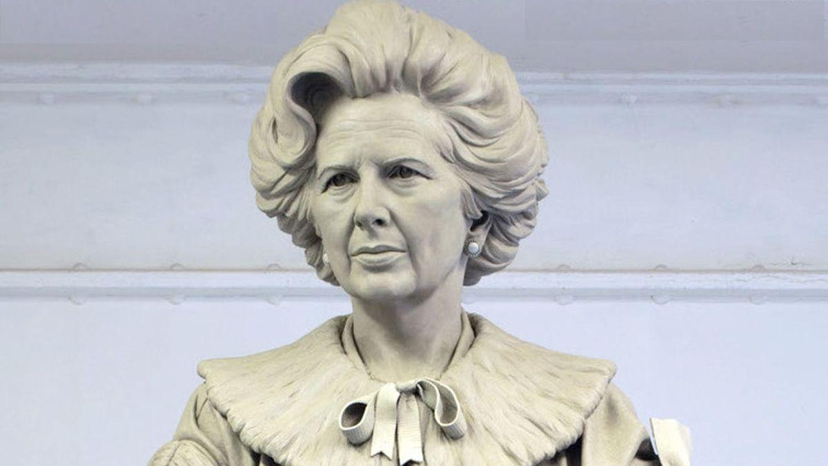 Margaret Thatcher: Denkmal von Douglas Jennings