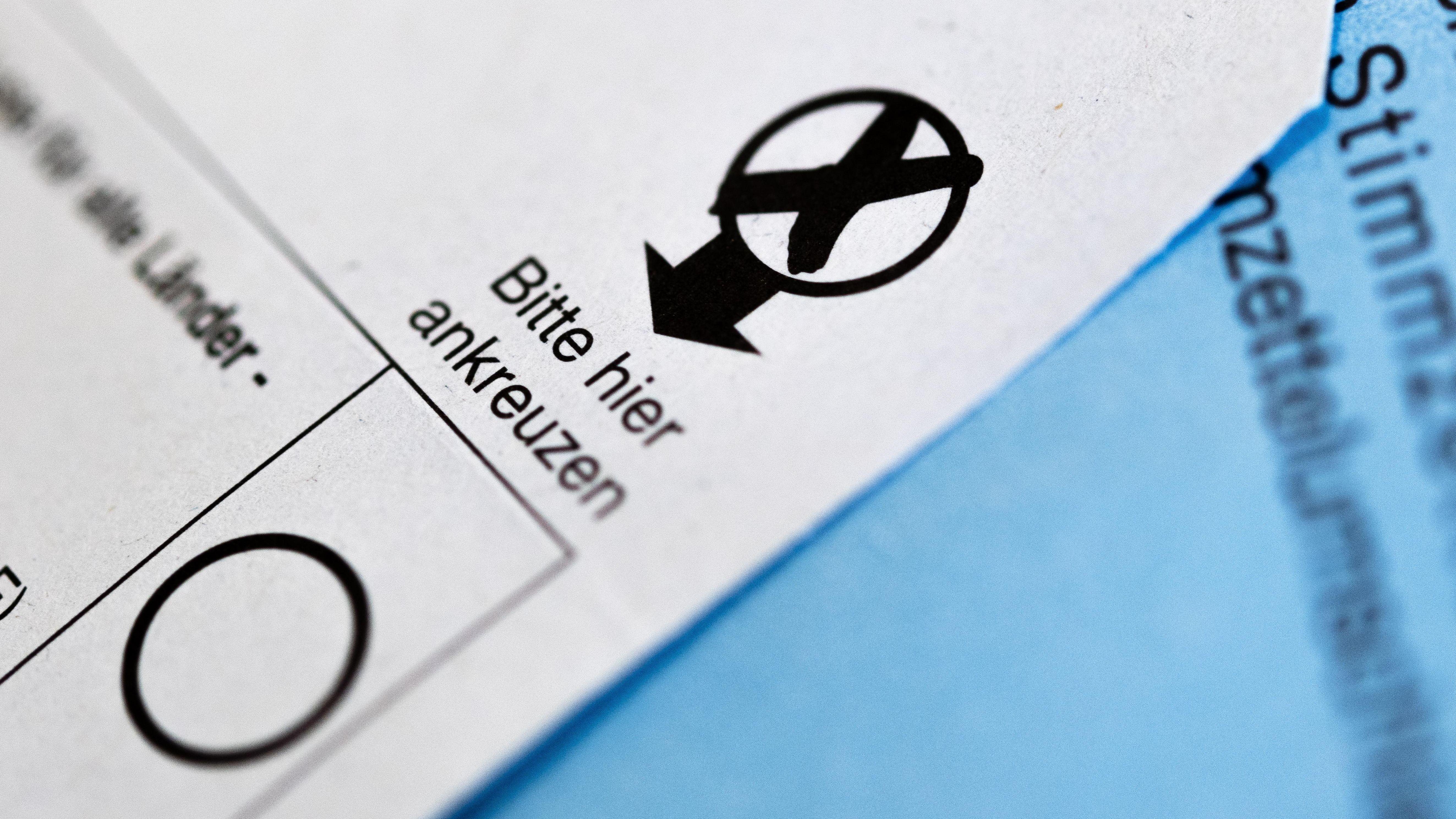 Stimmzettel (Symbolbild)