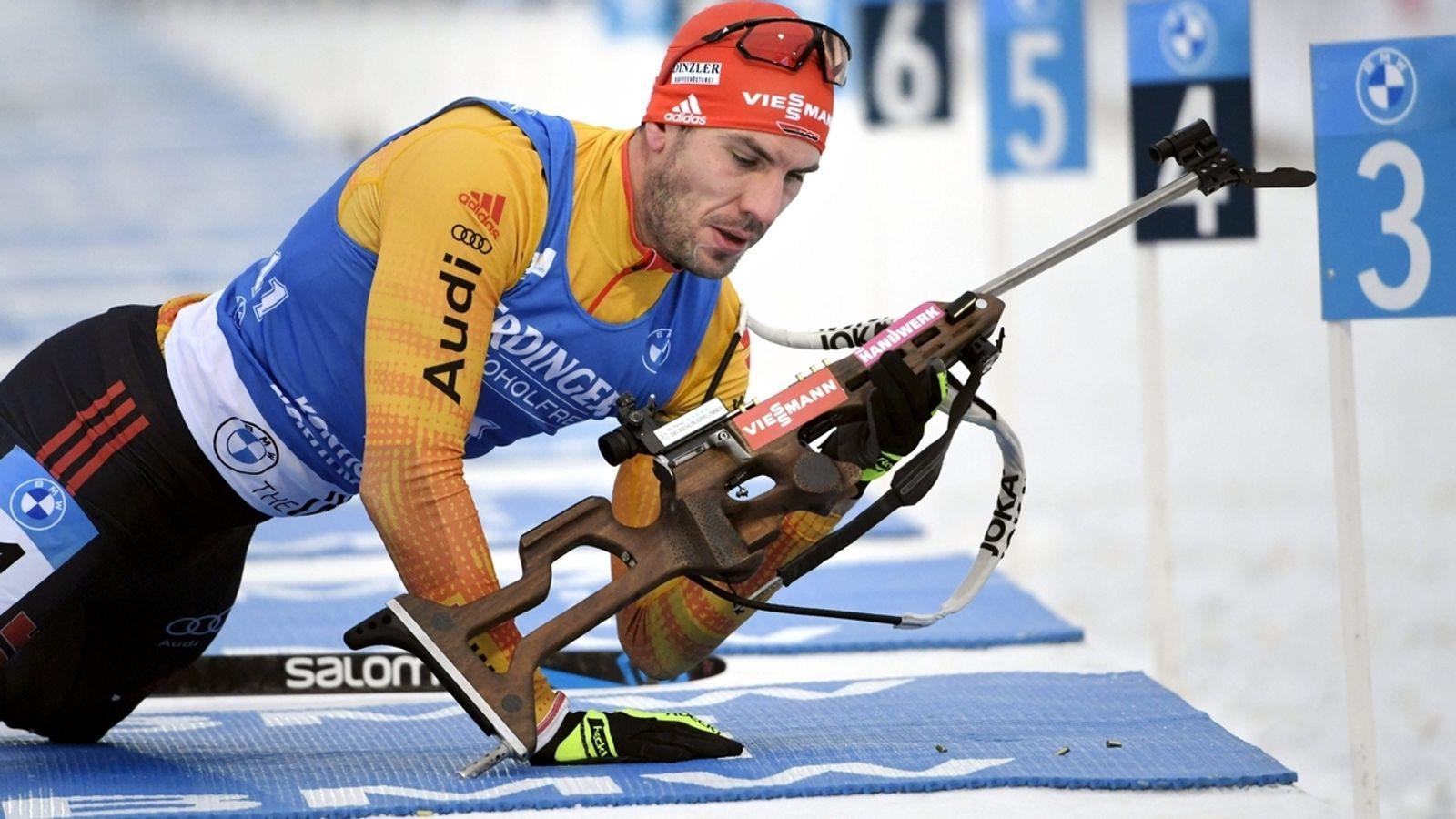 Biathlon: Schneller Peiffer Zweiter im Sprint, Doll Achter