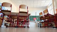 Geschlossene Schule   Bild:dpa-Bildfunk/Arne Dedert