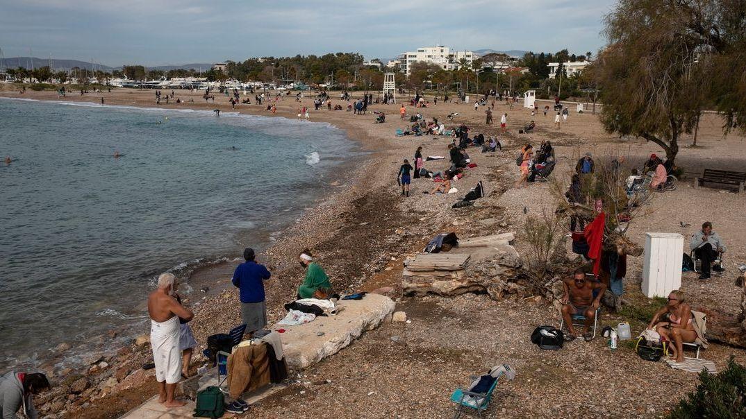 Strand bei Athen