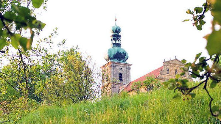Der Mariahilfberg ist das Wahrzeichen der Stadt Amberg. Im Sommer feiern tausende Wallfahrer hier das berühmte Bergfest.