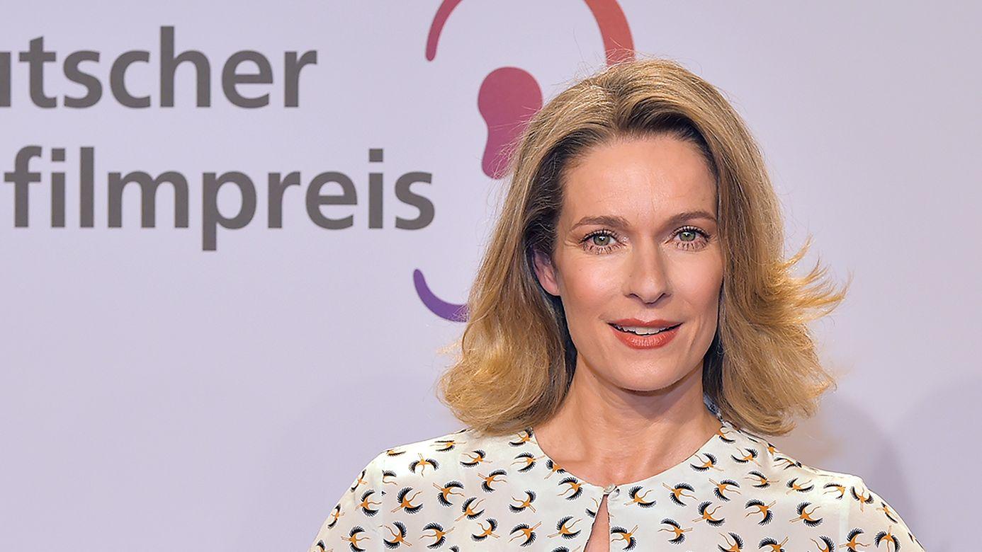 Lisa Martinek aud der Verleihung des Deutschen Hörfilmpreises