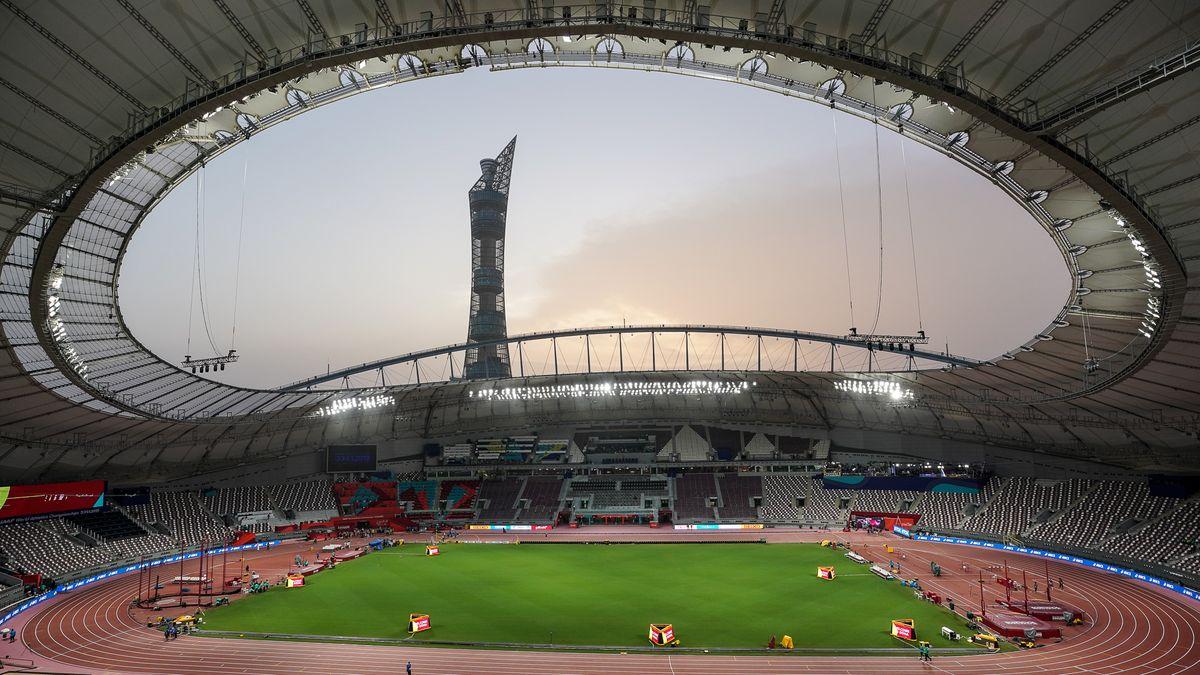 Khalifa International Stadion in Katar