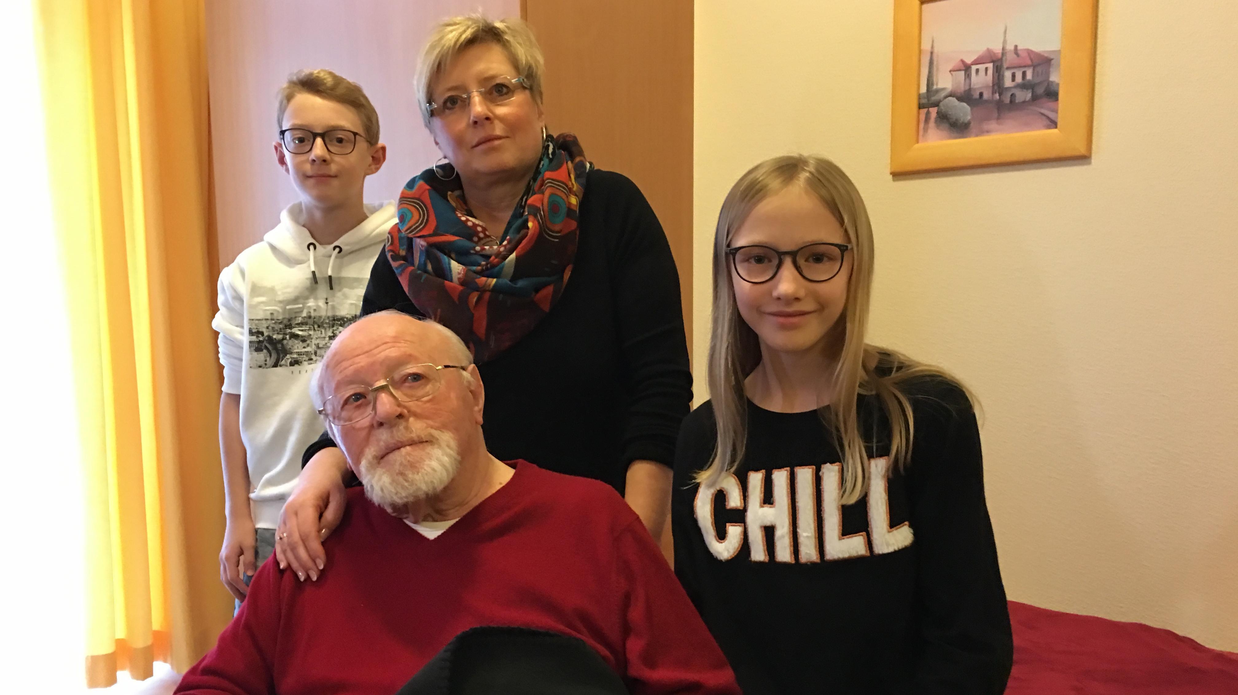 Ingolstadt: Familie Bauernfreund braucht einen Kurzzeitpflegeplatz.