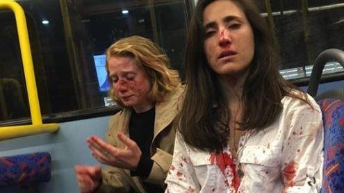 Ein lesbisches Paar wurde in einem Londoner Bus angegriffen
