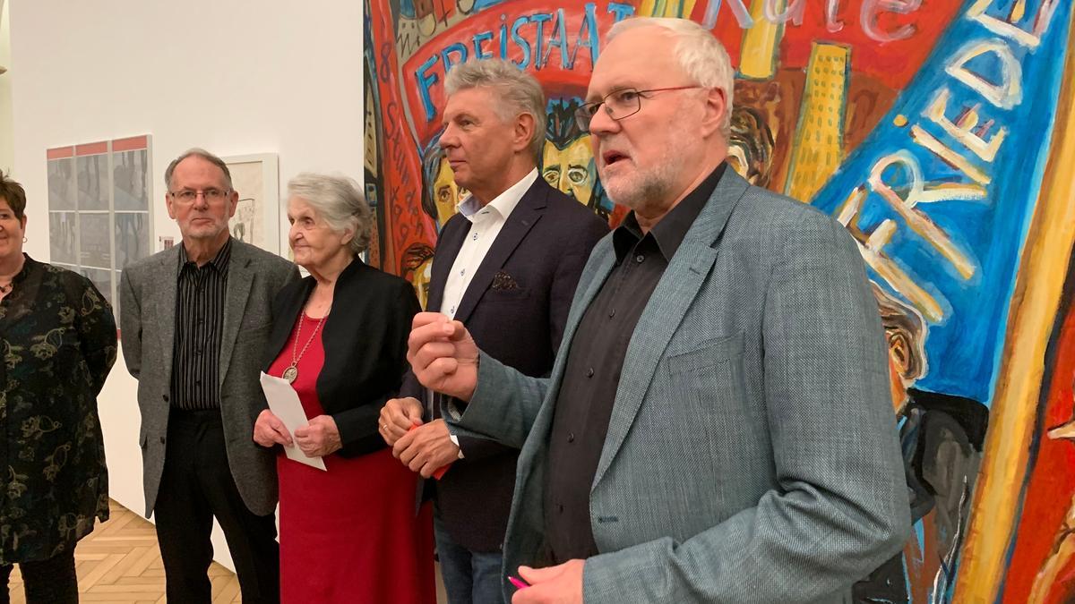 Ausstellungskurator Rauch fordert ein nachhaltigeres Gedenken.