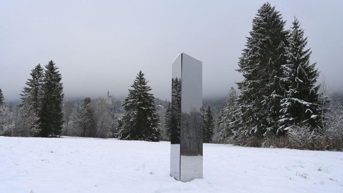 Die Metall-Stelle zwischen Hohenschwangau und Alterschrofen