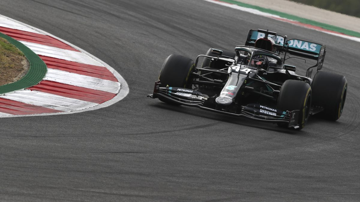Lewis Hamilton in Portugal