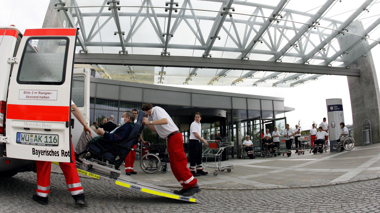 Uniklinik Würzburg – Zentrum für Innere Medizin