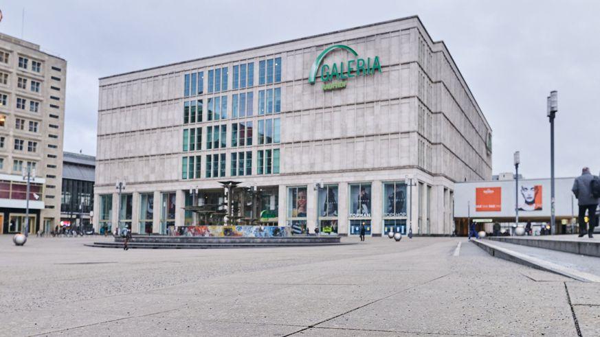 Filiale der Warenhauskette Galeria Karstadt Kaufhof in Berlin