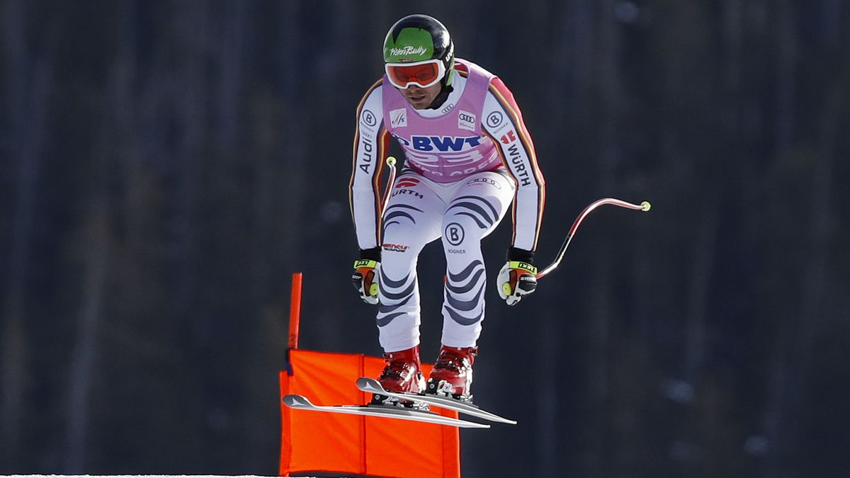 Andreas Sander belegte beim Weltcup-Rennen als bester Deutscher Platz 14.