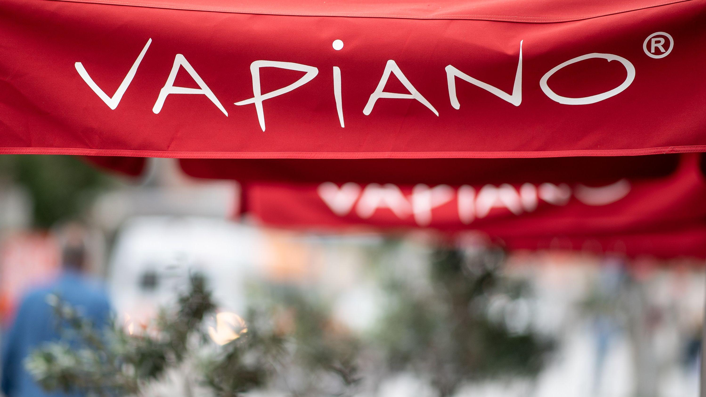 Das Logo der Restaurant-Kette Vapiano.