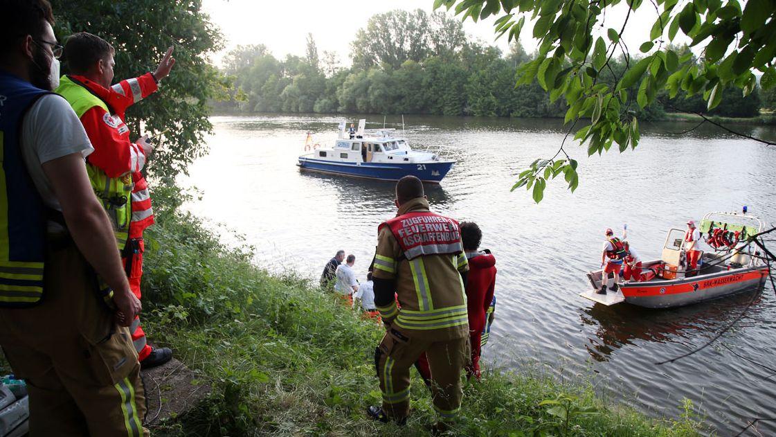 Rettungseinsatz in Aschaffenburg