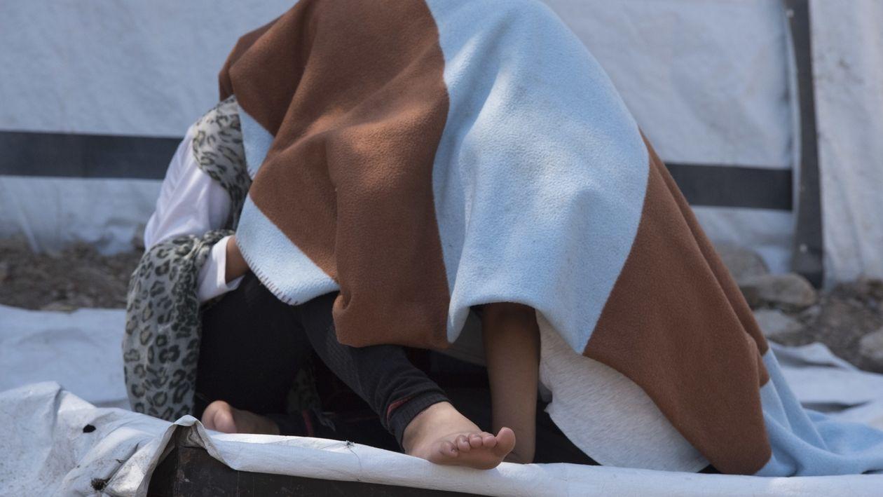 Moria, Aufnahmelager für Flüchtlinge