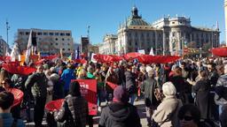 Demonstration gegen die Münchner Sicherheitskonferenz | Bild:BR| Manuel Rauch