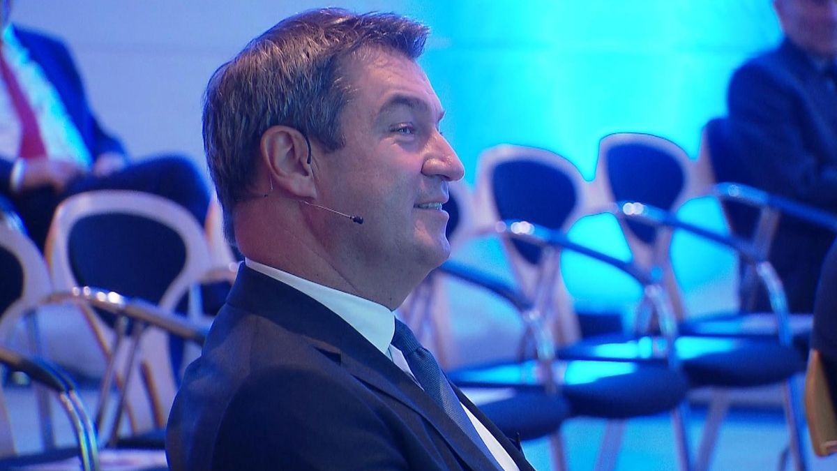 Markus Söder auf der CSU-Feier