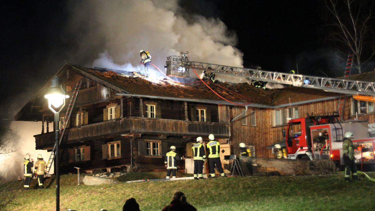 Brand im Museum Wald und Umwelt in Ebersberg