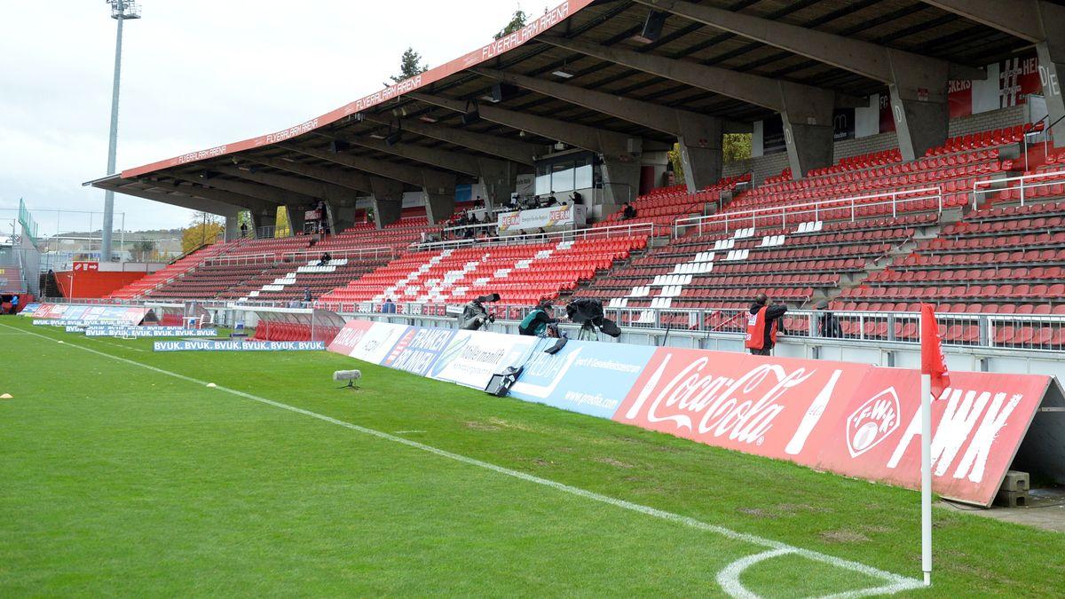 Stadion der Würzburger Kickers am Dallenberg