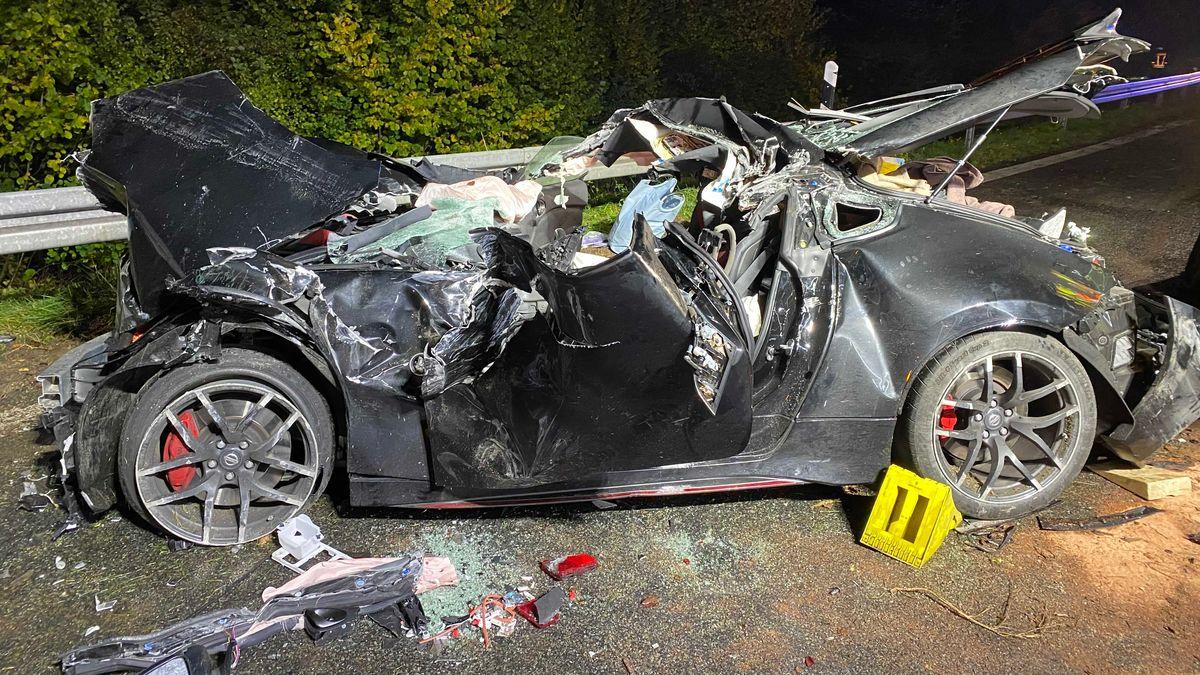 Das Auto, mit dem der 22-Jährige unterwegs war.