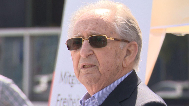 KZ-Überlebender Abba Naor