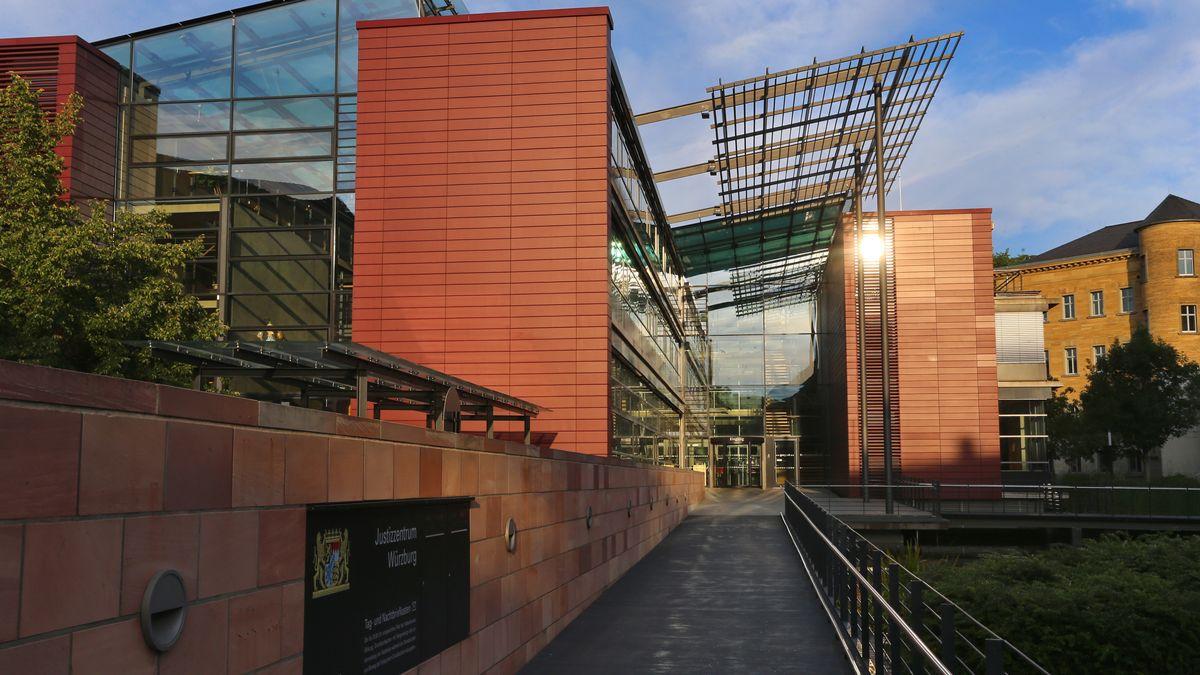Das Justizzentrum in Würzburg