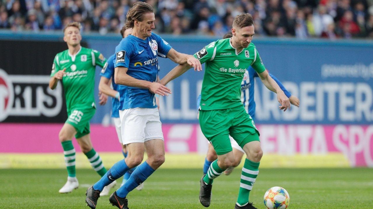 Spielszene Hans Rostock - TSV 1860 München