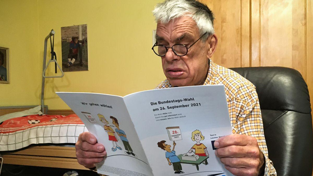 Günter Usbeck, 73, Erstwähler