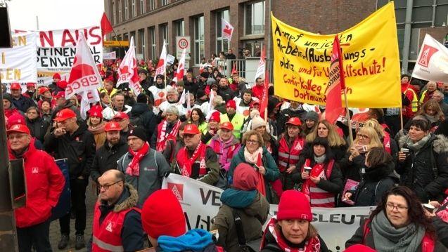 Insgesamt rund 900 Teilnehmer bei der Demo in Hannover