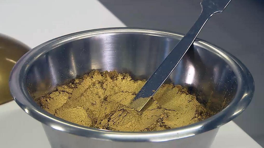 Gold aus Mittelfranken : Metall-Pulver aus Barnsdorf