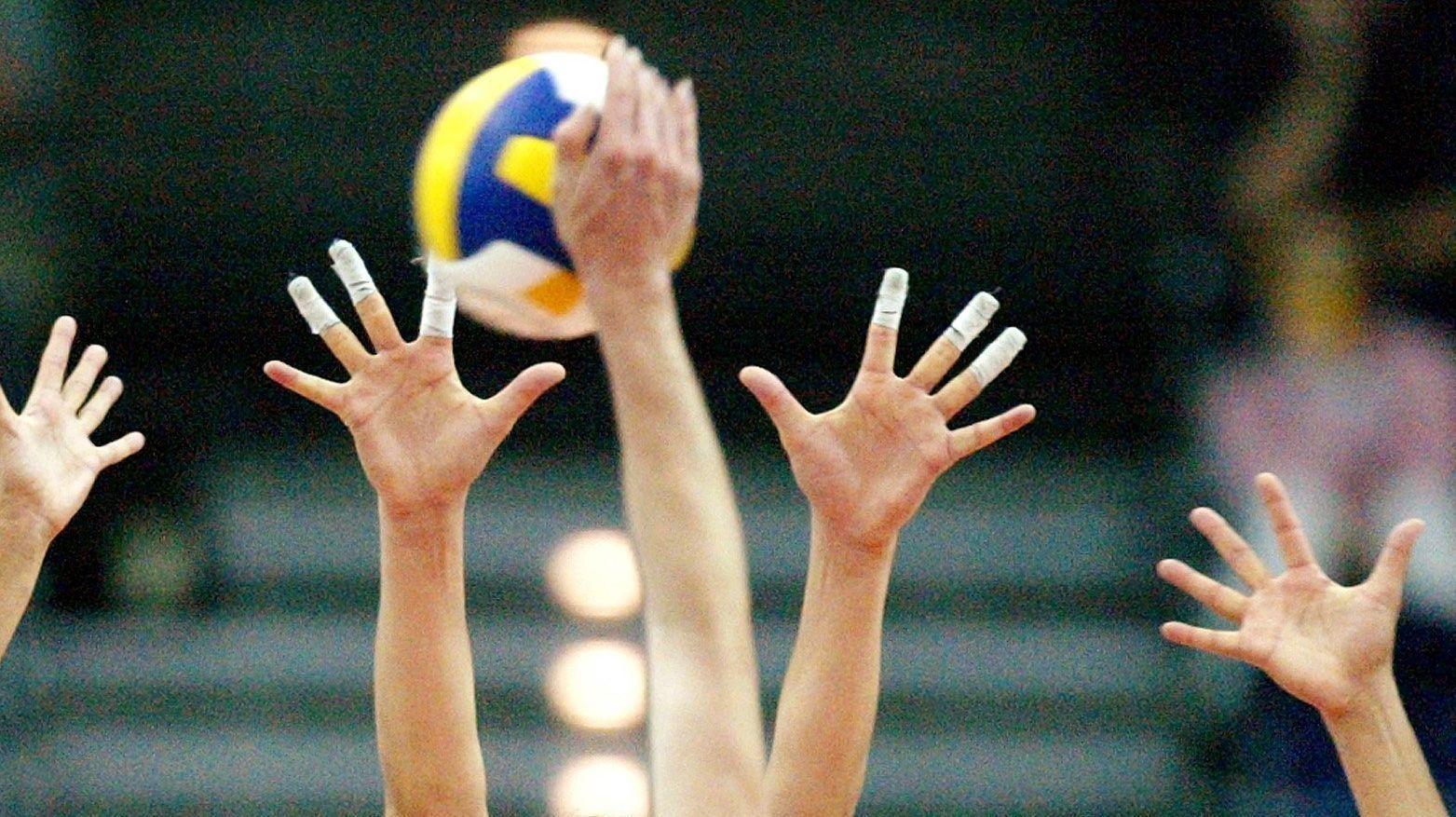 Volleyballspiel (Symbolbild)