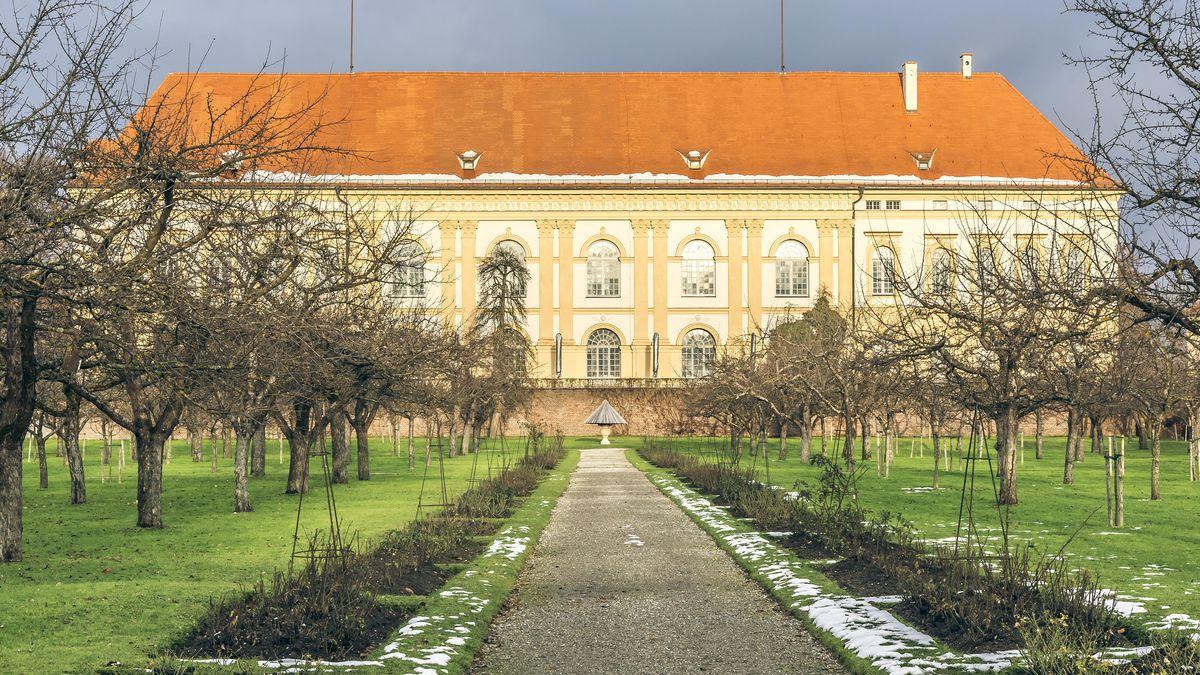 Eine Ansicht von Schloss Dachau
