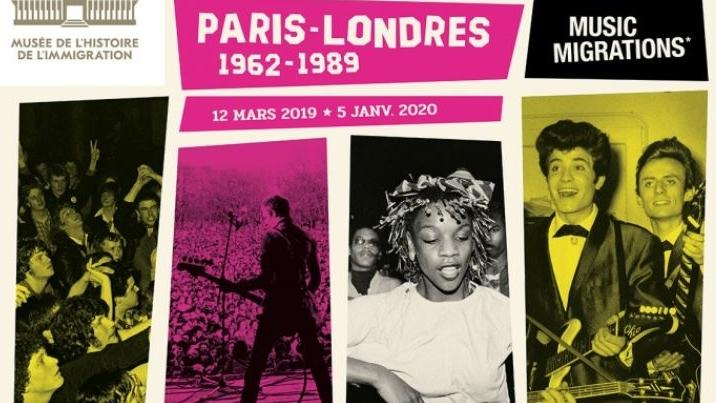Expo Paris London Music Migrations: Ausstellung in Paria