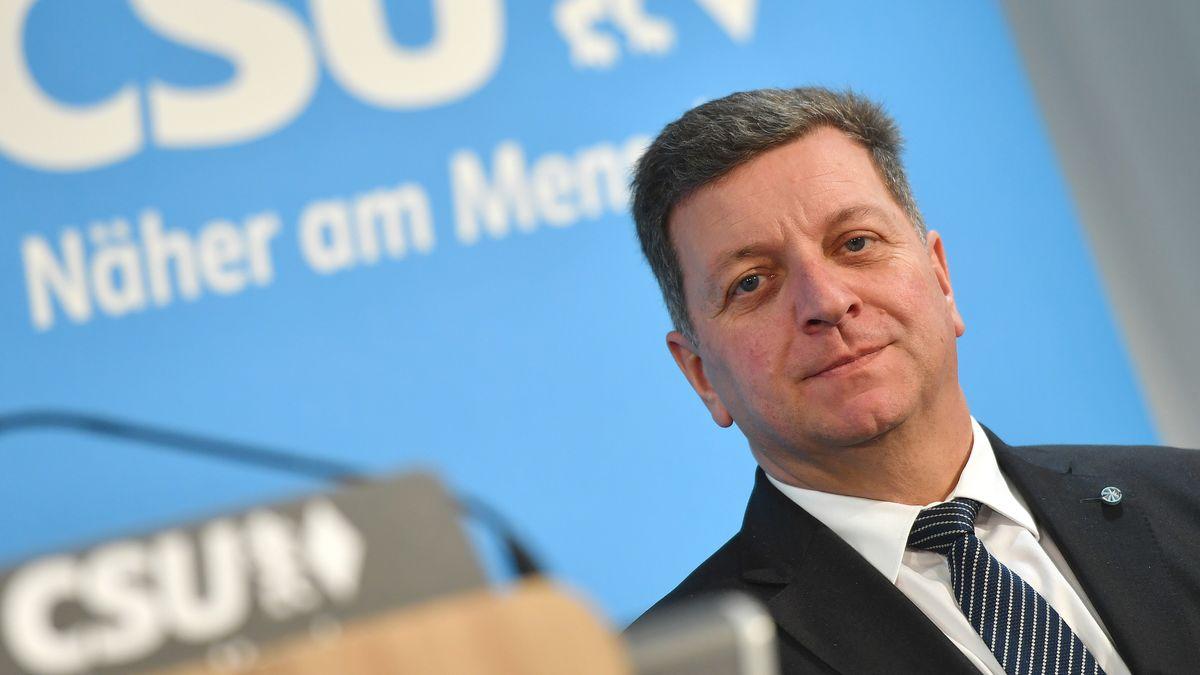 Christian Bernreiter (CSU), Präsident des Bayerischen Landkreistages und Deggendorfer Landrat