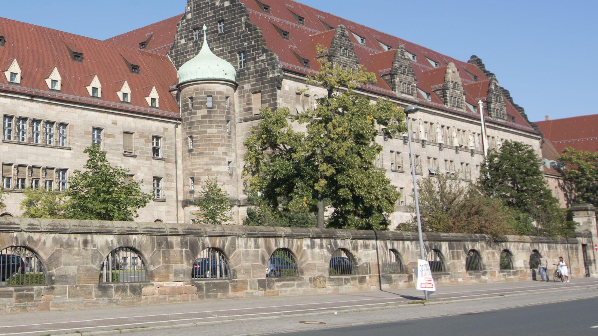 Der Justizpalast Nürnberg