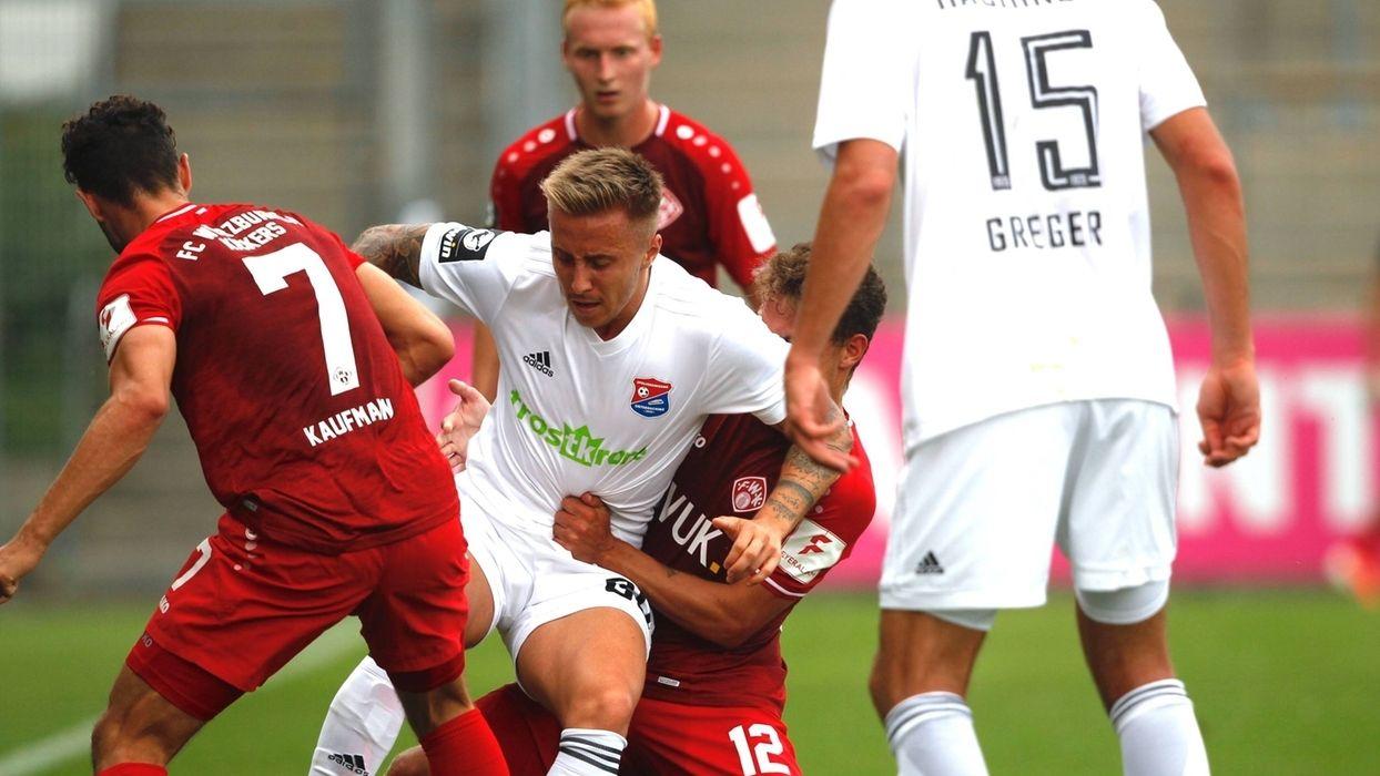 SpVgg Unterhaching - Würzburger Kickers