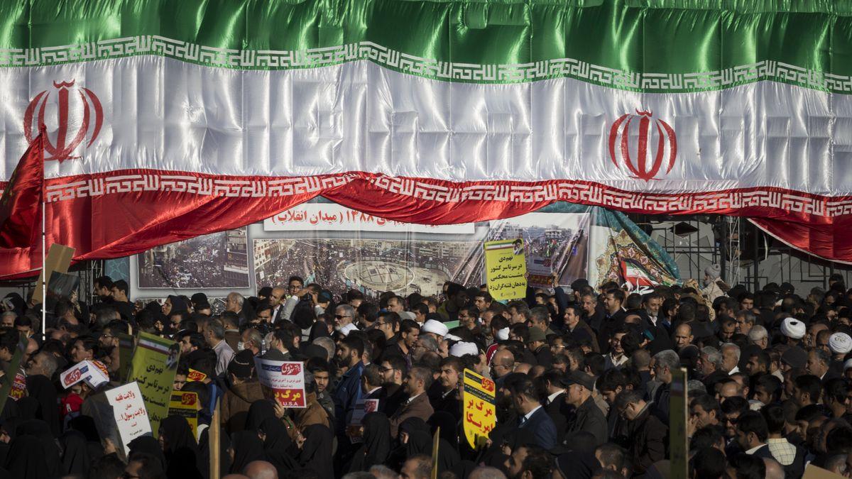 Demonstration in Iran