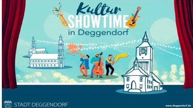 Ein Plakat der Stadt Deggendorf