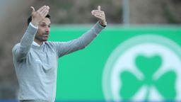 Fürth-Trainer Stefan Leitl