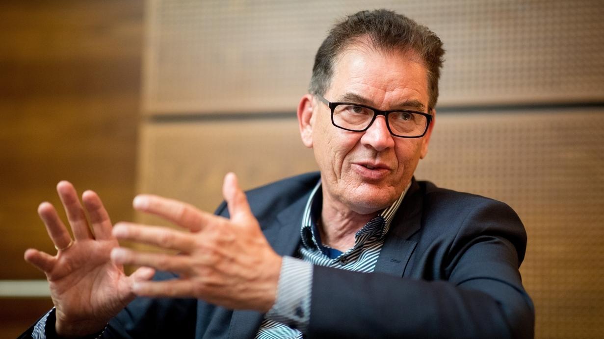 Gerd Müller Entwicklungsminister
